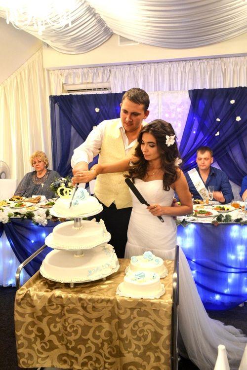 первый день свадьбы