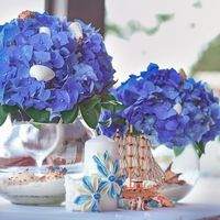 Композиции на столе жениха и невесты