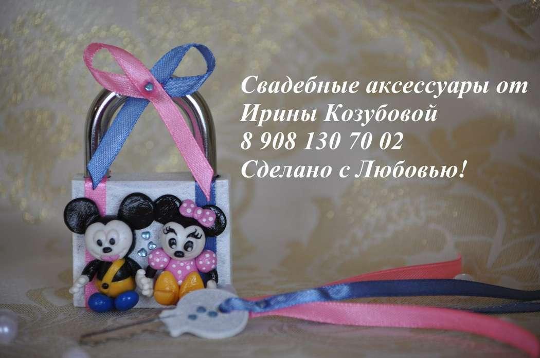 """Свадебный замочек """"Mr & Mrs Mouse"""" - фото 7378680 Свадебные аксессуары от Ирины Козубовой"""
