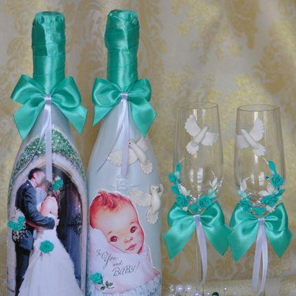 Набор аксессуаров в цвете свадьбы