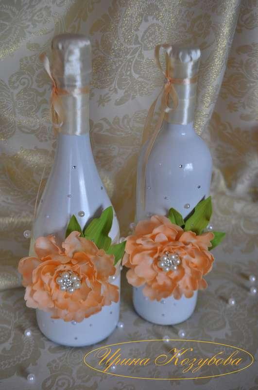 Фото 14665536 в коллекции Бутылки - Свадебные аксессуары от Ирины Козубовой