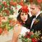 живые цветы на свадьбу, венок невесты. Рязань, организация свадьбы