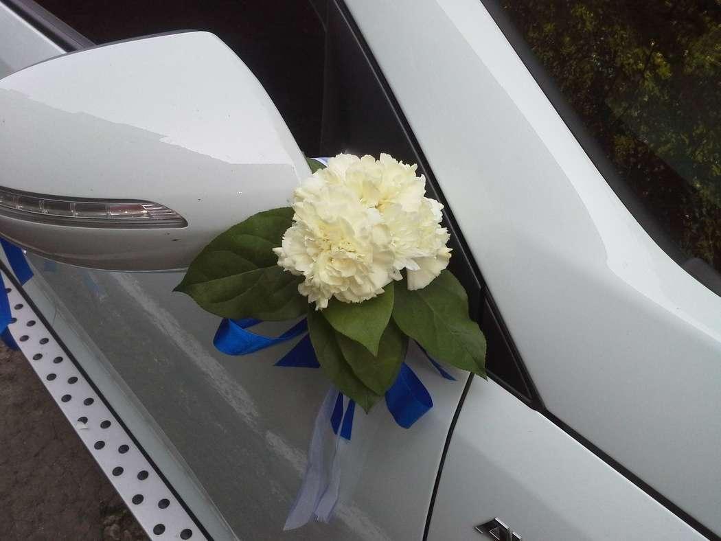 Свадебные украшения на машину фото рязань