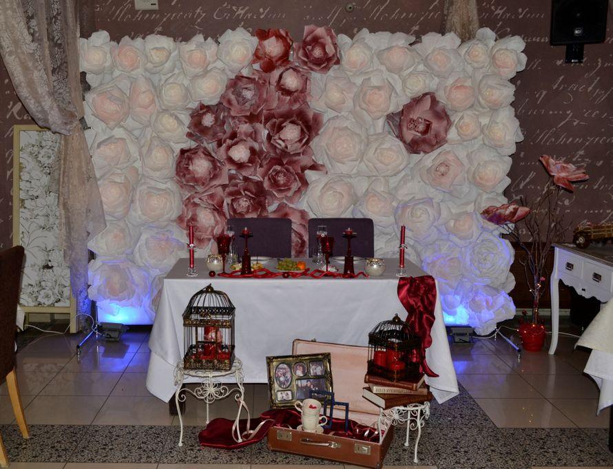 """Свадьба Елены и Кирилла, 12 декабря - фото 8092370 Салон флористики и декора """"Розовый букет"""""""