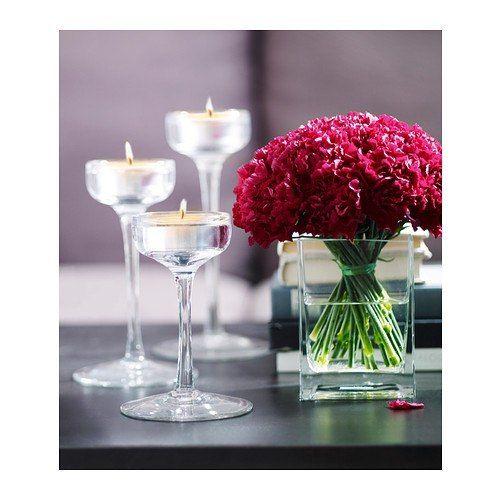 """Подсвечники стеклянные 3 шт. - фото 16249498 Салон флористики и декора """"Розовый букет"""""""