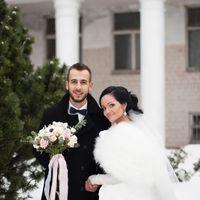 зимняя свадьба, фотосессия зимой, ботанический сад