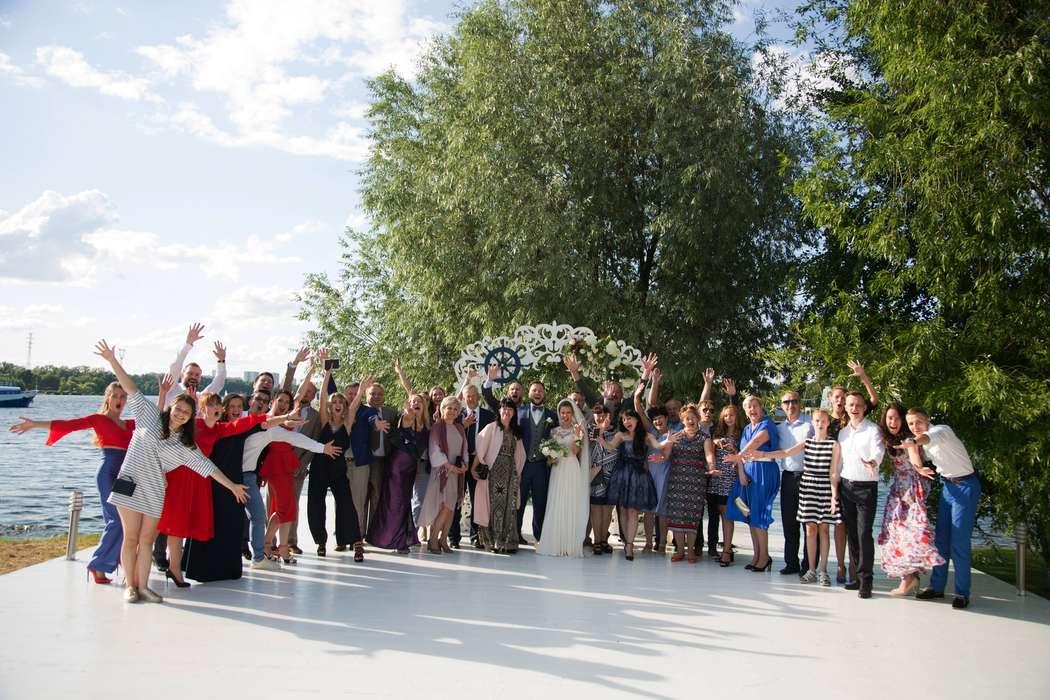 морская тема, морская свадьба, свадьба у воды, выездная регистрация, арка, синий - фото 15539706 Фото и видеосъёмка Fevish studio