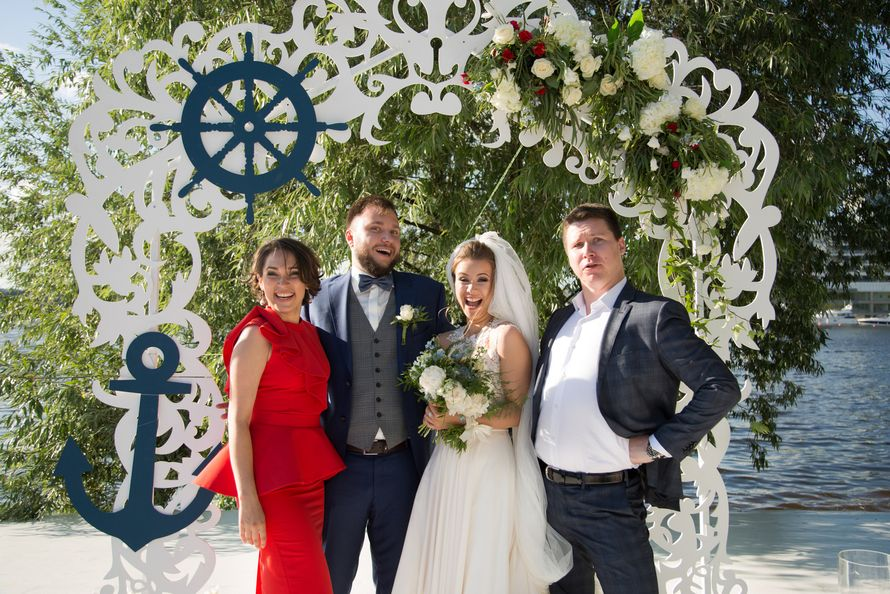 Фото 15539716 в коллекции Морская свадьба 21.07.2017 - Фото и видеосъёмка Fevish studio