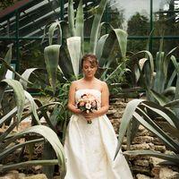 аптекарский огород, фотосессия, летняя свадьба, капучино, кофейный, кофе, букет, атласное платье, атлас