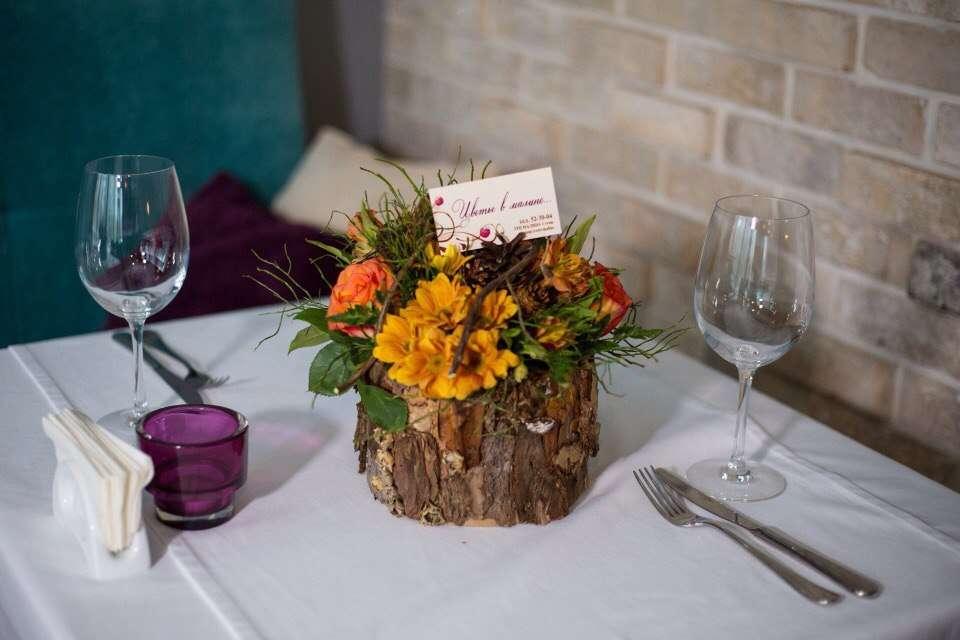 Фото 8921640 в коллекции Флористическое оформление торжеств и мероприятий - Цветы в малине,  оформление свадеб