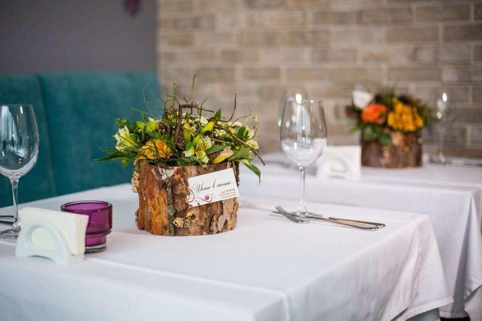 Фото 8921648 в коллекции Флористическое оформление торжеств и мероприятий - Цветы в малине,  оформление свадеб