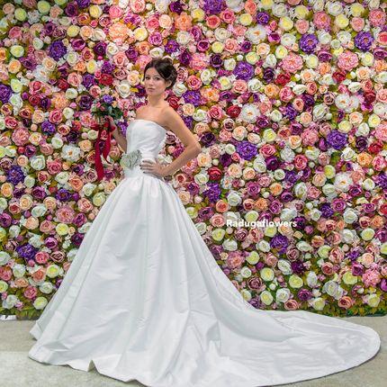 Аренда цветочной стены для фотозоны