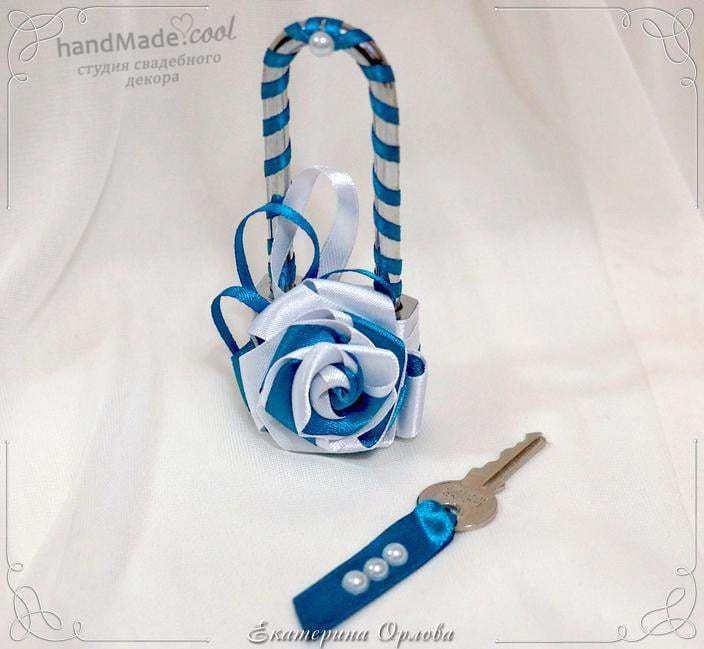 Свадебный замочек любви, ручная работа на заказ - фото 7676312 Студия свадебного декора Handmade