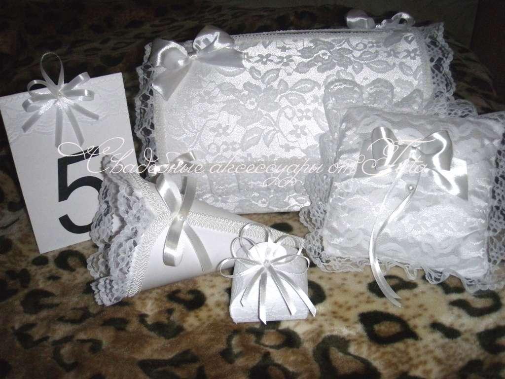 Фото 641753 в коллекции Свадебные комплекты - Свадебные аксессуары от Tata