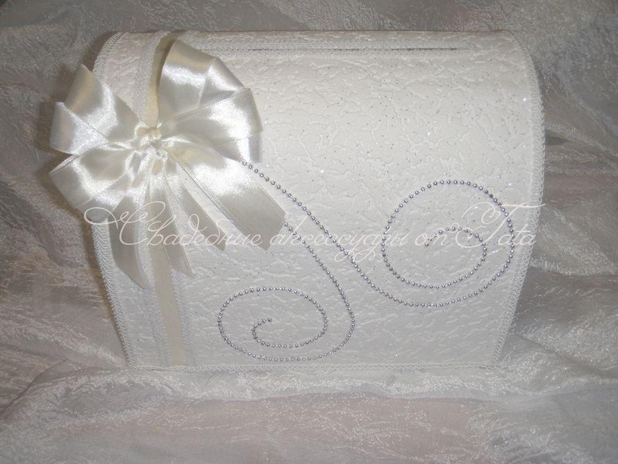 Фото 641843 в коллекции Сундучки для сбора денег - Свадебные аксессуары от Tata