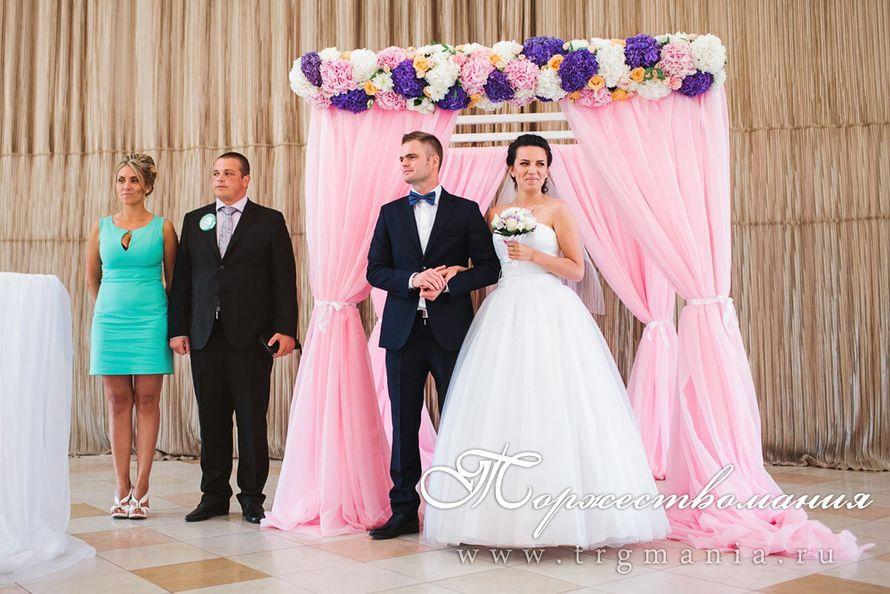 свадебная арка с цветами - фото 7509344 Студия декора и флористики Торжествомания