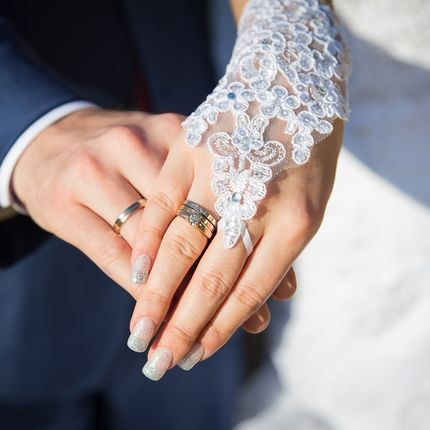 Свадебное фото ЗАГС