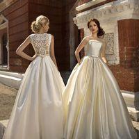 """Свадебные платья """"Мариэлла"""" и """"Альбертина"""" ТМ Anna Kuznetcova. Платья на заказ, доставка 2 недели"""