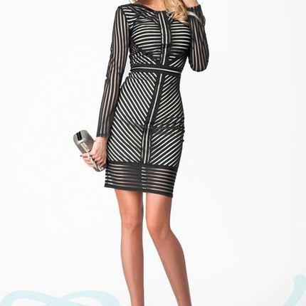 Роскошное облегающее платье