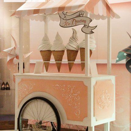 Тележка для мороженого - аренда