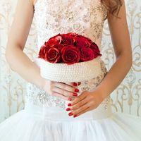 Букет невесты Лилии