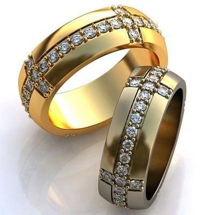 Красивые парные кольца