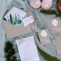 Лесная сказка в свадебный день Илоны и Алексея  Декор  Полиграфия  Макияж  Фото