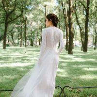 """Платье """"Озарение"""" Закрытое платье с милыми пуговками на спине и воздушной юбкой. размер 42-44 29000"""
