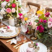 Красочная свадьба с деталями в испанском стиле. Вдохновляйтесь!