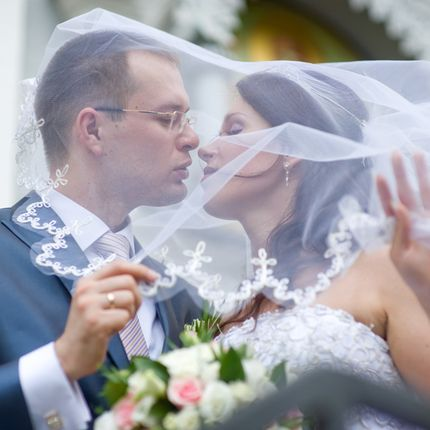 Видеосъемка регистрации и свадебной прогулки