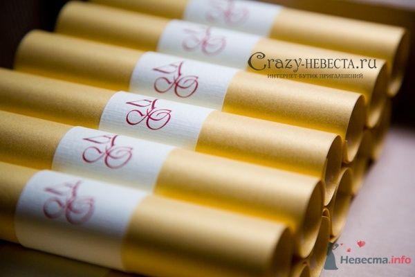 свитки - фото 28326 Crazy-Невеста - приглашения, аксессуары и декор