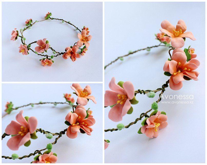 """Веночек для невесты или подружки - фото 8263280 Мастерская авторских украшений """"Avonessa"""""""