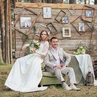 Стиль, декор, аксессуары - Art Wedding    Флористика Юля Псковцвет -  Фотограф - Олег Голиков
