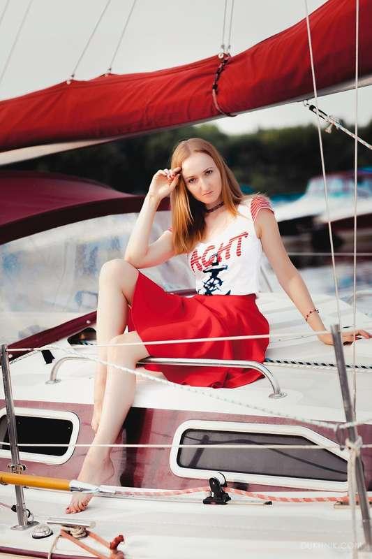 Фото 11474518 в коллекции Аренда парусной яхты с алыми парусами для фотосессий - Аренда яхты Паруса-нн