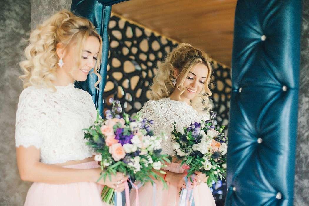 Свадьба Аси и Артема Фото: Алла Казабекова  Место: Гнездо Аиста - фото 13617552 Стилист Ната Андреева