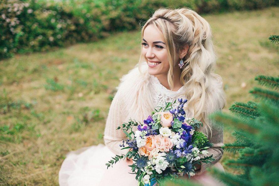 Свадьба Аси и Артема Фото: Алла Казабекова  Место: Гнездо Аиста - фото 13617560 Стилист Ната Андреева