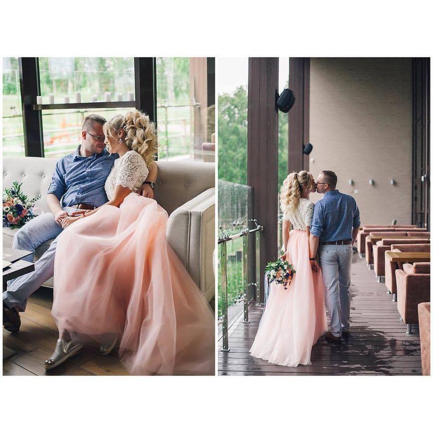 Свадьба Аси и Артема Фото: Алла Казабекова  Место: Гнездо Аиста - фото 13617566 Стилист Ната Андреева
