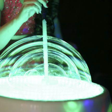 Шоу мыльных пузырей Световое