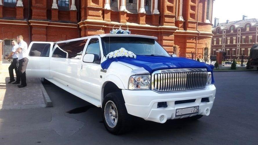 """заказать лимузин на свадьбу 8-906-620-00-00, 8-906-532-02-22 - фото 7527352 Компания аренды автомобилей """"Avto 71"""""""