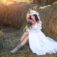 Ковбойская свадьба Фотосессия