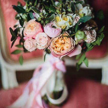 Особенный букет невесты