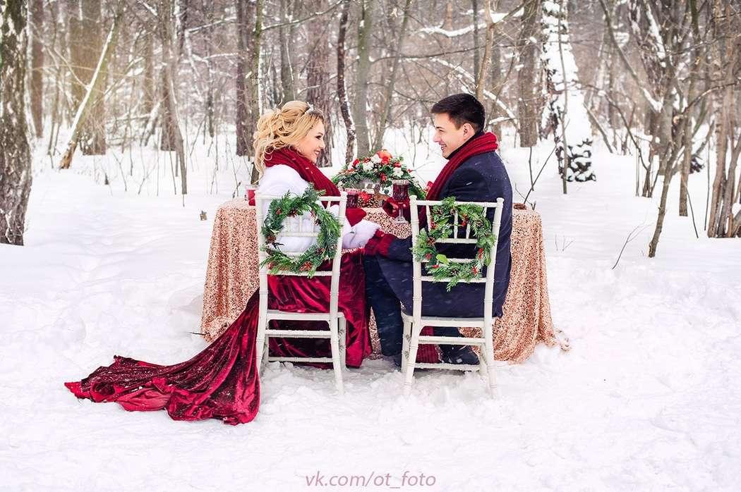 Свадьба в красном, Жених и невеста - фото 14102368 Фотограф Ольга Трушкина