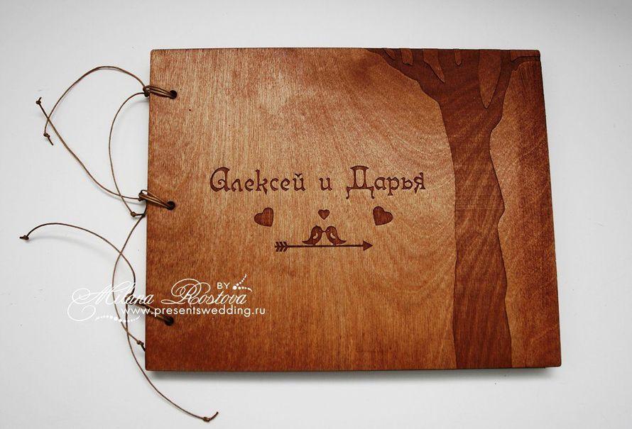 Деревянная обложка для своими руками