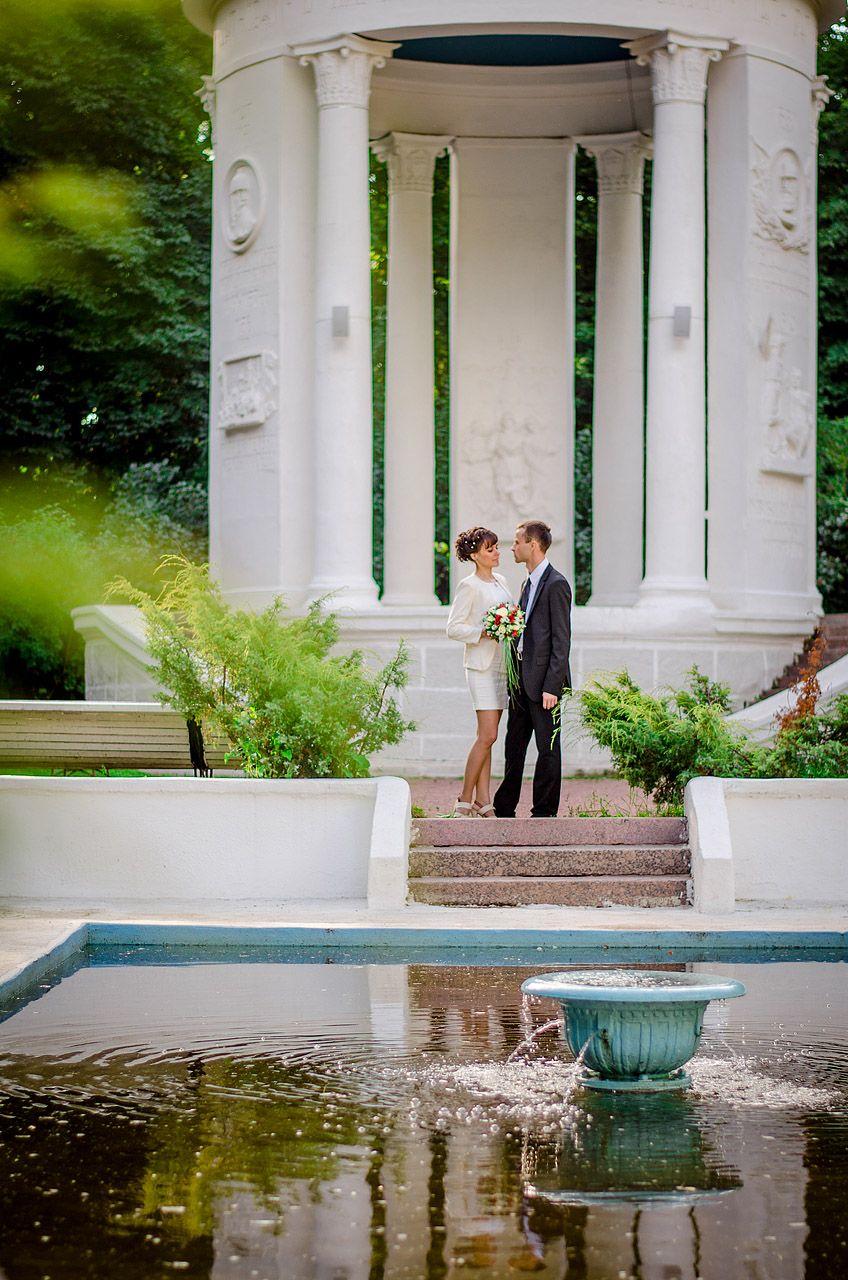 Нескучный сад фото свадьбы