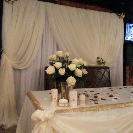 Зимняя свадьба в уютных тонах