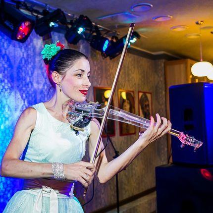 Скрипичный шоу-номер