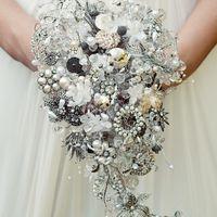 Создание авторских букетов невесты