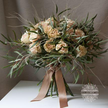 Букет невесты Капучино
