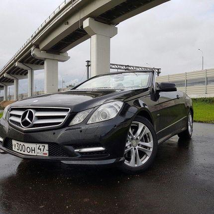 Кабриолет Mercedes-Benz AMG E-classe