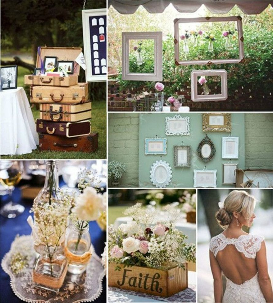 Фото 8906448 в коллекции Винтажная свадьба - Vanil-Decor - организация мероприятия